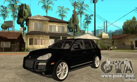 Porsche Cayenne Turbo S 2009 for GTA San Andreas inner view
