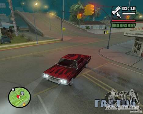 New map icons for GTA San Andreas second screenshot