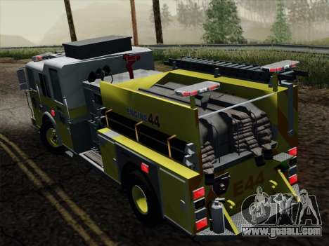 Seagrave Marauder II BCFD Engine 44 for GTA San Andreas back view