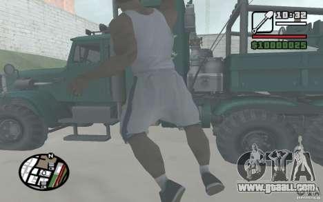 Throwing shovels for GTA San Andreas forth screenshot