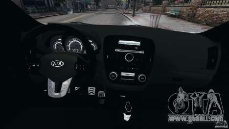 Kia Ceed 2011 for GTA 4 back view