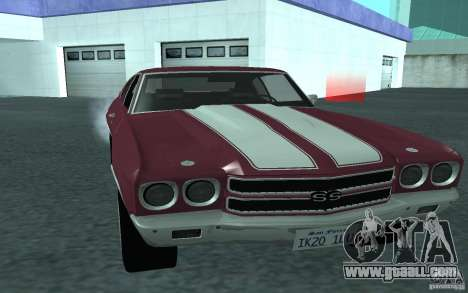 Chevrolet Chevelle SS for GTA San Andreas right view