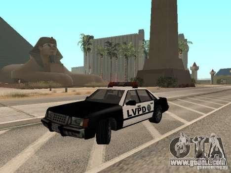 LVPD Police Car for GTA San Andreas