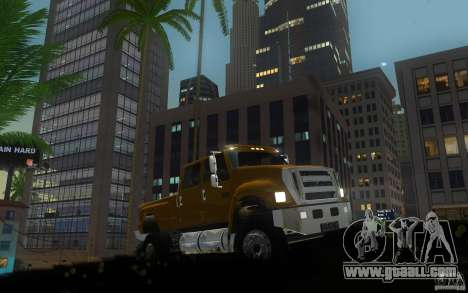 Ford F-650 for GTA San Andreas left view