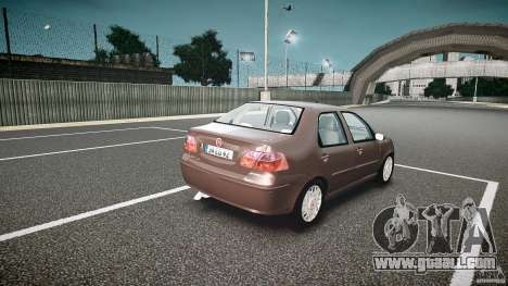 Fiat Albea Sole (Bug Fix) for GTA 4 inner view