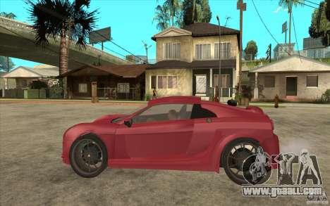 Mastretta MXT for GTA San Andreas left view