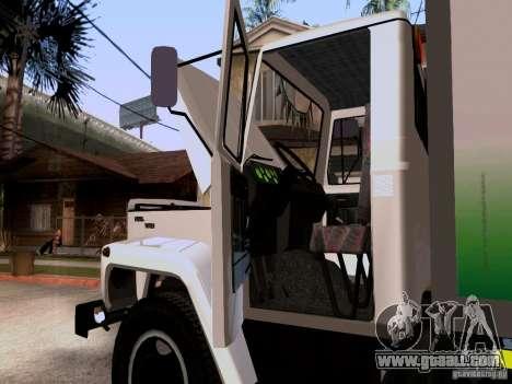 GAZ 3309 for GTA San Andreas back view