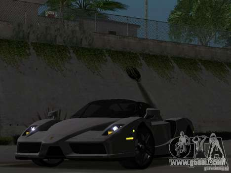 Ferrari Enzo Novitec V1 for GTA San Andreas back view