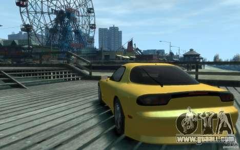 Mazda RX-7 v1 for GTA 4 back left view