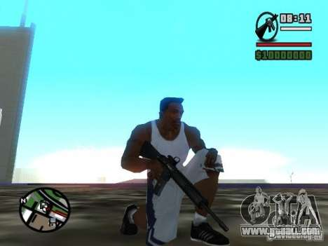 Gangster Weapon Pack for GTA San Andreas