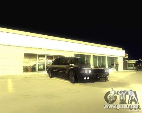 BMW 740i Update for GTA San Andreas