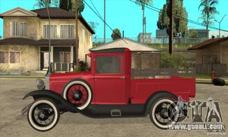 Ford Model A Pickup 1930 for GTA San Andreas left view