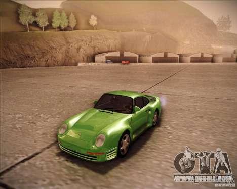 Porsche 959 1987 for GTA San Andreas
