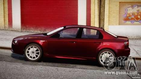 Alfa Romeo 159 Li for GTA 4 back view