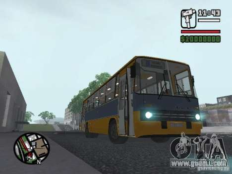 Ikarus 263 for GTA San Andreas right view