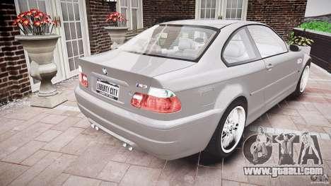 BMW M3 e46 v1.1 for GTA 4 side view