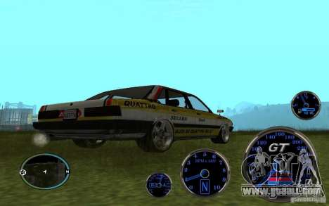 Audi 80 Quattro Rally for GTA San Andreas back view