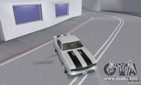 Chevrolet Camaro RSSS 1967 for GTA San Andreas upper view