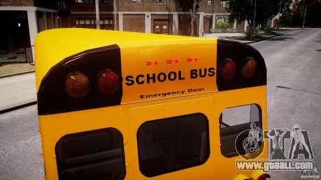 School Bus [Beta] for GTA 4 wheels
