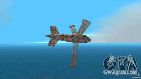 Conceptual Fighter Plane for GTA Vice City back left view