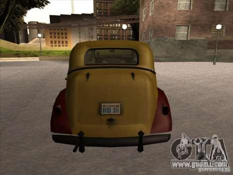 Shubert TAXI of MAFIA 2 for GTA San Andreas right view