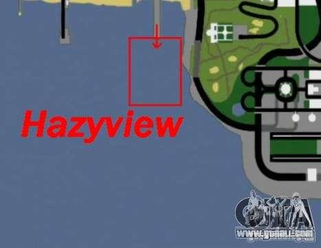 Hazyview for GTA San Andreas forth screenshot