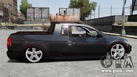 Volkswagen Saveiro Cross Edit for GTA 4 left view