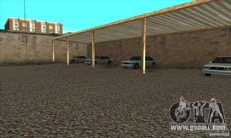 Renewal of driving schools in San Fierro for GTA San Andreas fifth screenshot