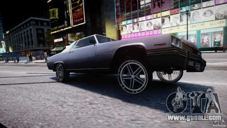 Manana Tuned for GTA 4 upper view