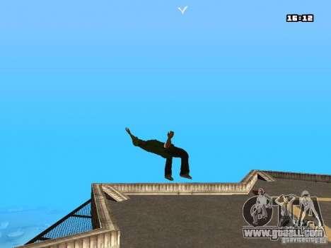 Parkour Mod for GTA San Andreas third screenshot