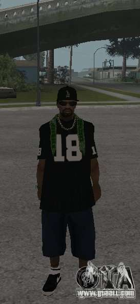 New skins Grove Street for GTA San Andreas