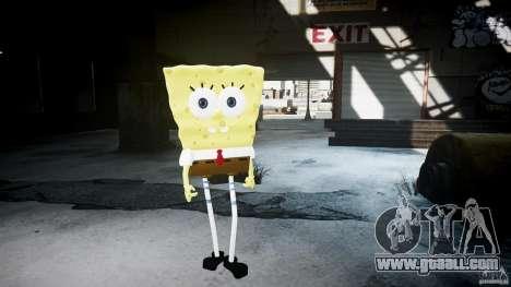 Spongebob for GTA 4 seventh screenshot