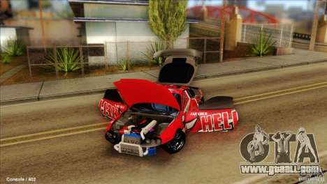 Toyota Supra HELL for GTA San Andreas