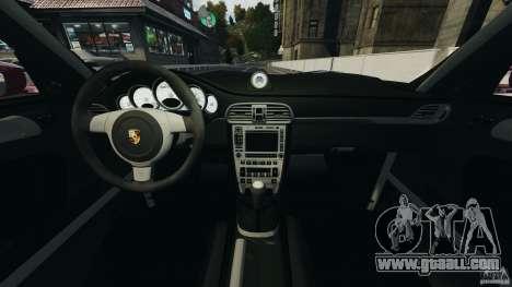 Porsche 997 GT2 Body Kit 1 for GTA 4 back view