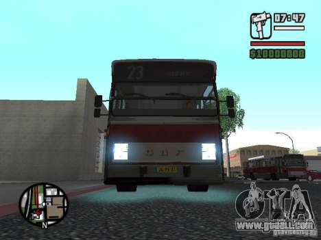 DAF CSA 1 City Bus for GTA San Andreas left view