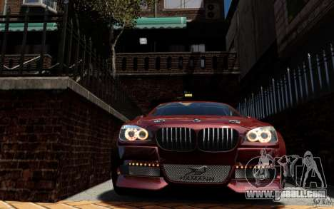 Menu and boot screens BMW HAMANN in GTA 4 for GTA San Andreas