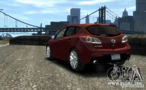 Mazda Speed 3 2010 for GTA 4 left view