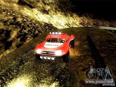 Toyota Tundra Rally for GTA San Andreas