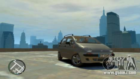 Daewoo Matiz Style 2000 for GTA 4