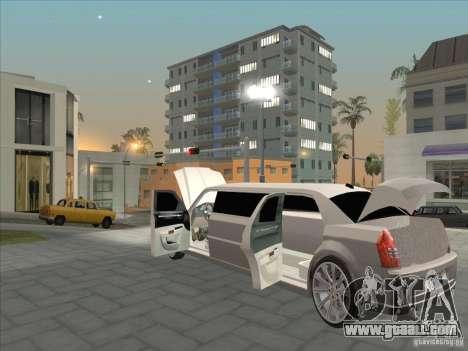 Chrysler 300C Limo for GTA San Andreas side view