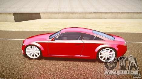 Audi Nuvollari Quattro for GTA 4 back left view