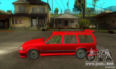 Volvo 945 Wentworth R with bodykit (1.2) for GTA San Andreas left view
