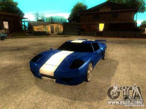 Bullet GT Drift for GTA San Andreas