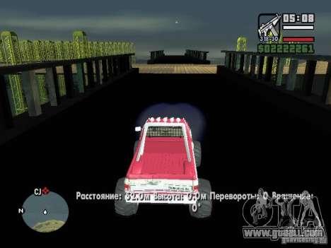 Monster tracks v1.0 for GTA San Andreas forth screenshot