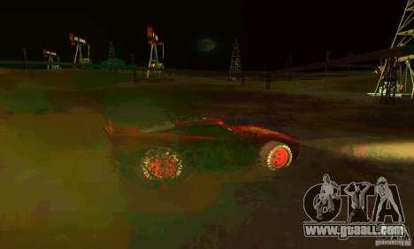 MCQUEEN from Cars for GTA San Andreas upper view