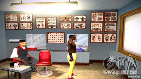 Three new tattoo for GTA San Andreas twelth screenshot