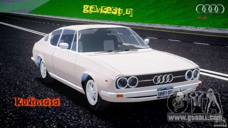 Audi 100 Coupe S for GTA 4