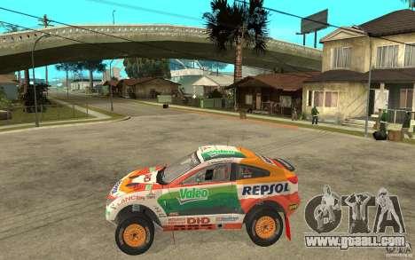 Mitsubishi Racing Lancer for GTA San Andreas left view