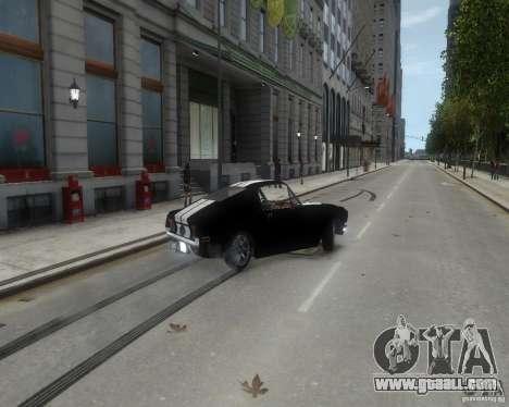 Ford Mustang Tokyo Drift for GTA 4 inner view