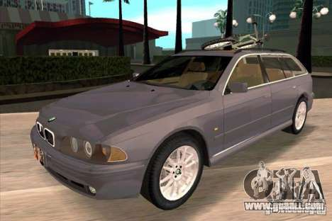 BMW 525 Touring V2 for GTA San Andreas